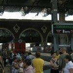 Dworzec Kazański w Moskwie - stąd odjeżdżają pociągi Kolei Transsyberyjskiej