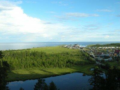 Bajkał widziany z Siewierobajkalska