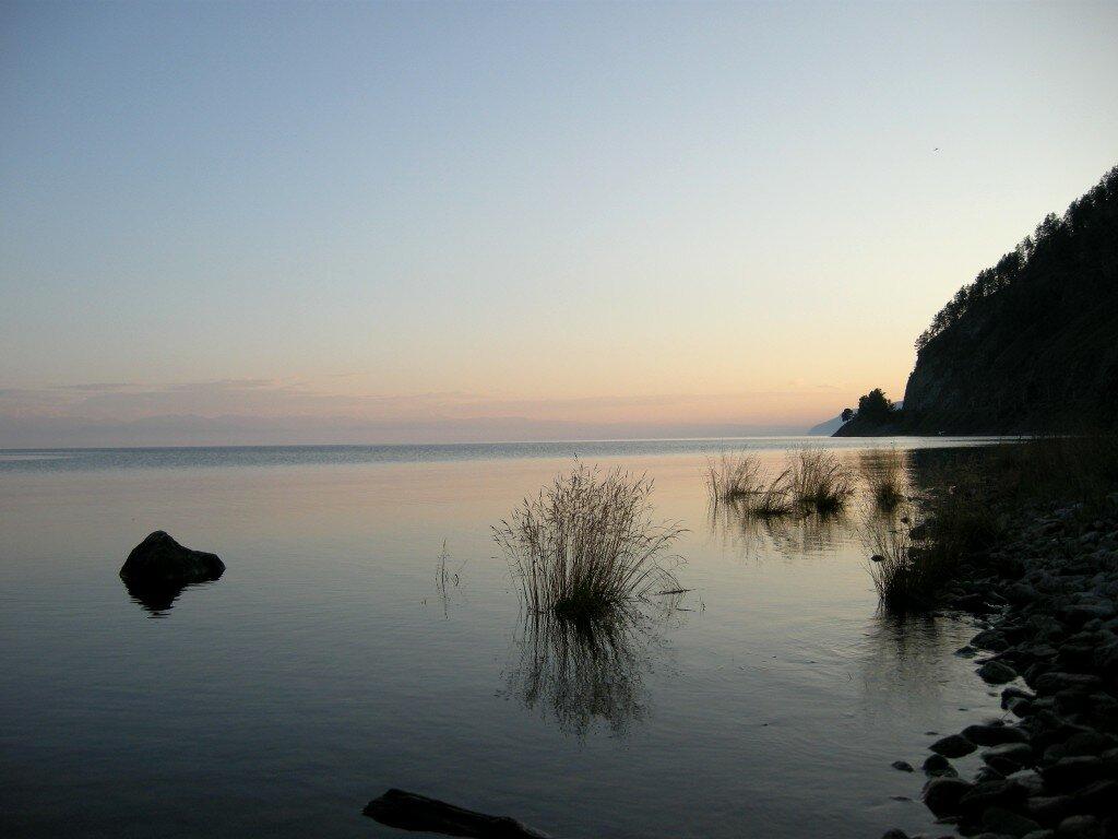 Zmierzch nad Bajkałem