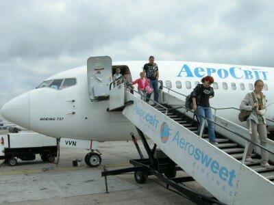 Boeing 737 ukraińskich linii Aerosvit