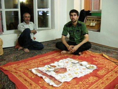Irańska gościnność - Ehsan i jego tata