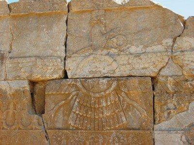 Faravahar w Persepolis