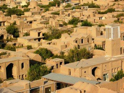 """Meybod - """"egipskie"""" miasteczko"""