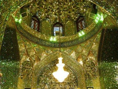 Miliony drobnych kawałków lustra to tradycyjne, perskie zdobnictwo