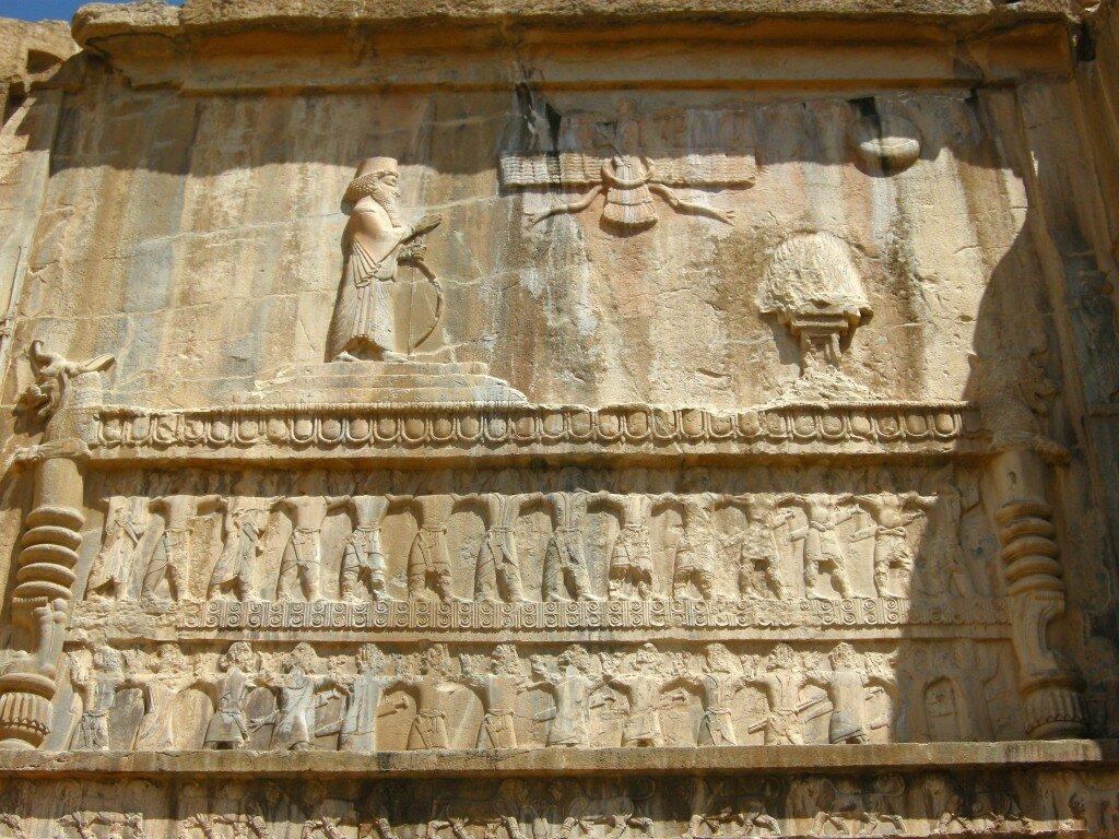 Persepolis - imponujące płaskorzeźby