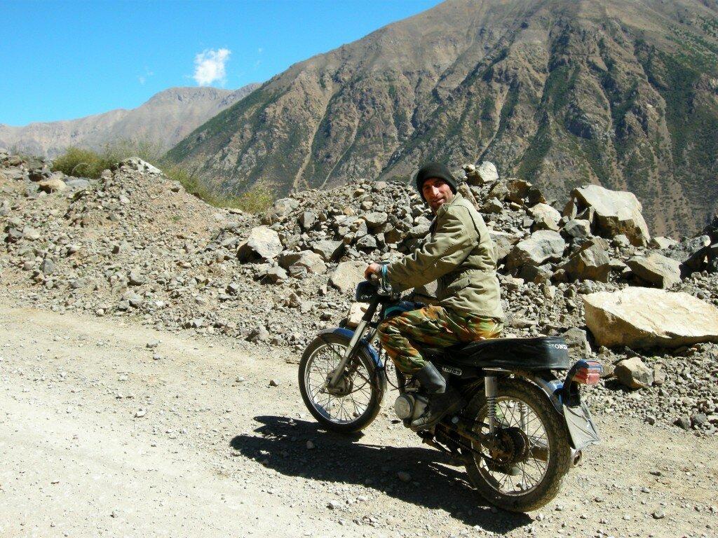 Górskie mototaxi