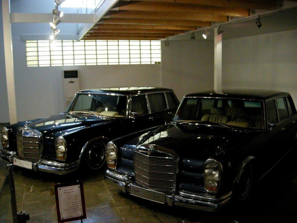 Saadabad - kolekcja samochodów szacha