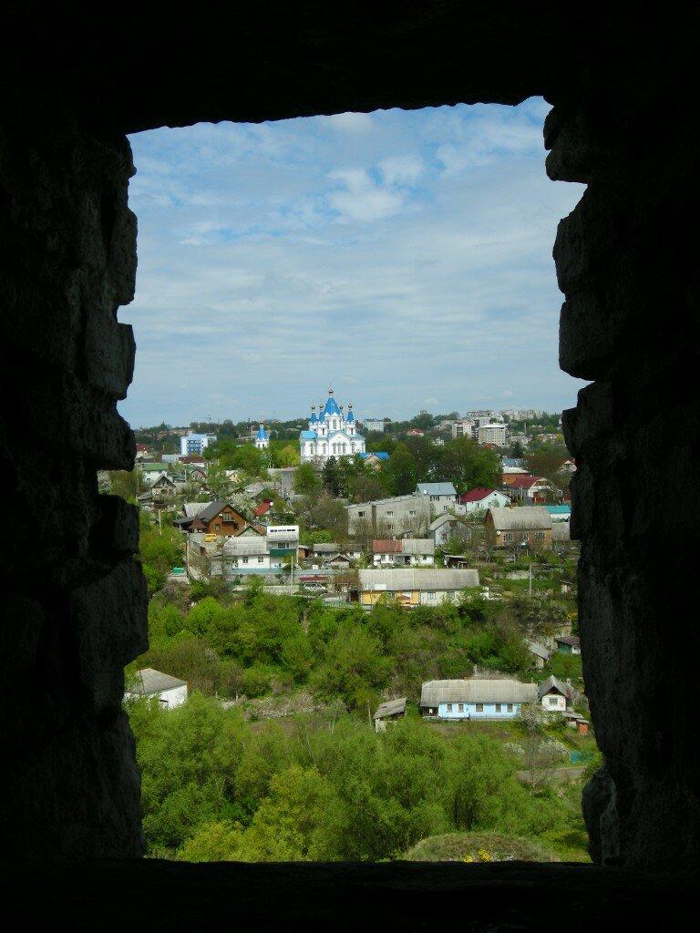 Widok z zamku na miasto